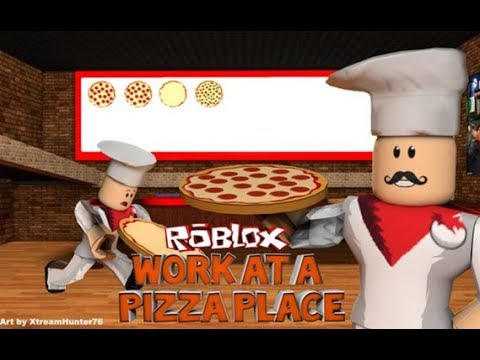 ROBLOX Work At A Pizza Place SPRING UPDATE