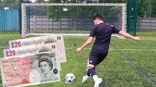 CASH GOAL FOOTBALL CHALLENGE | BILLY VS JEZZA