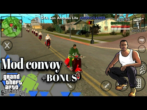 Tutorial Riview Mod Convoy Gta Sa Android