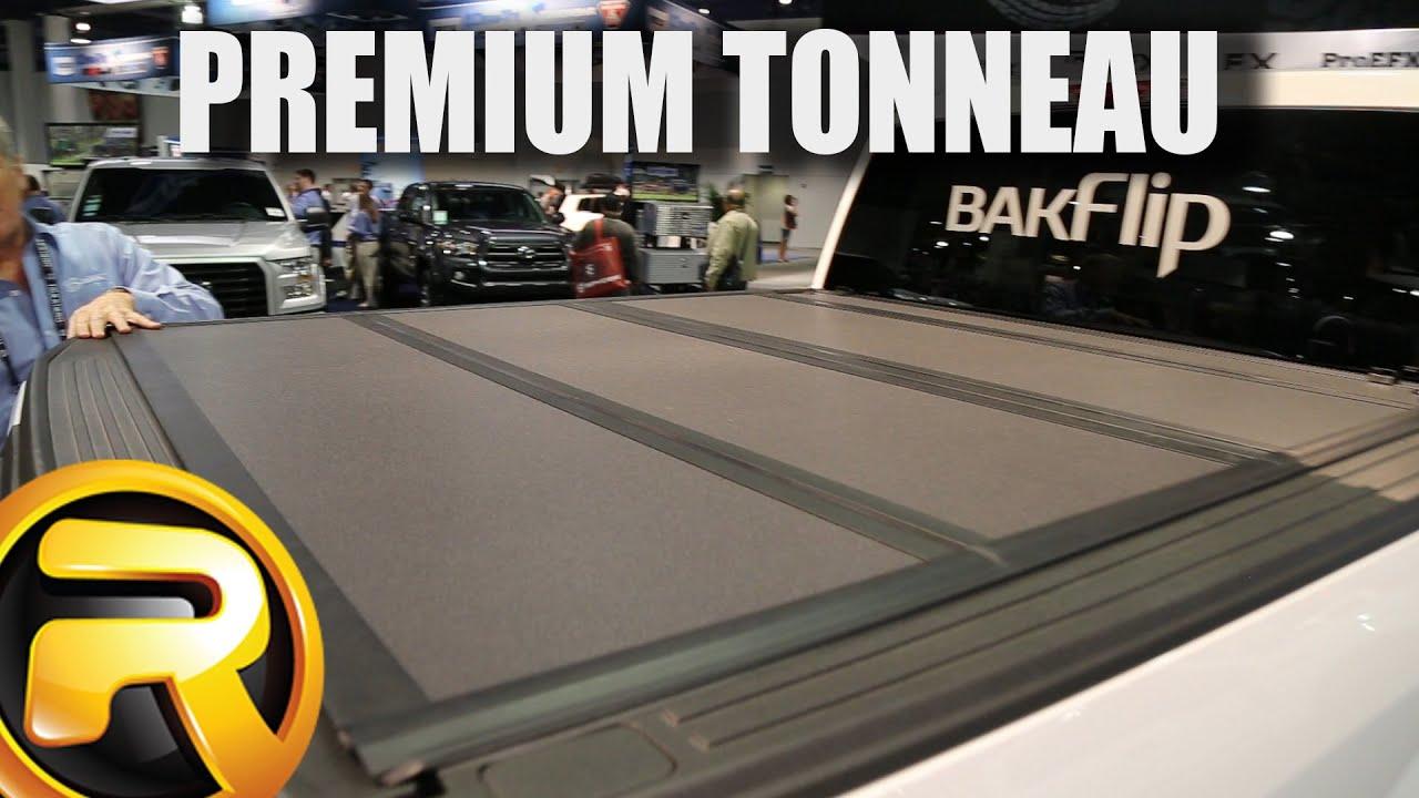 Bakflip G2 Tonneau Cover >> BAKFlip MX4 Tonneau Cover at SEMA - YouTube