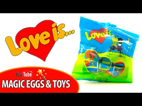 LOVE IS... Открываем 50 жвачек Love is (Лав из). Часть 1.