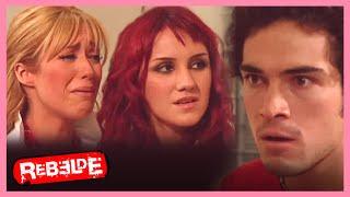 Rebelde: ¡Roberta y Mía intentan liberar a Miguel! | Escena C262-C263 | Tlnovelas