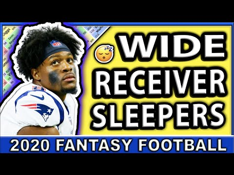 2020 Fantasy Football Wide Receiver SLEEPERS | Late Round Targets