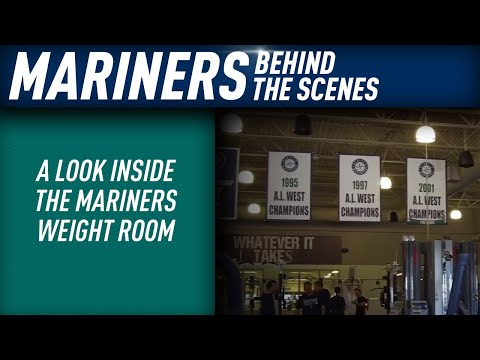 A look inside the Mariners weight room