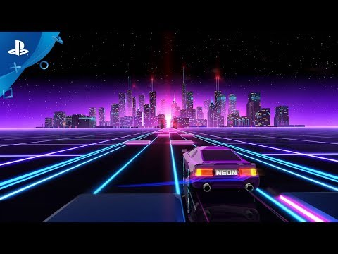 Neon Drive - Announce Trailer | PS4