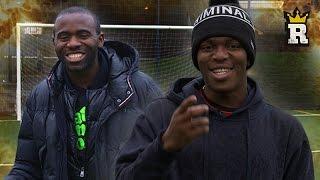 KSI & Fabrice Muamba: Shooting