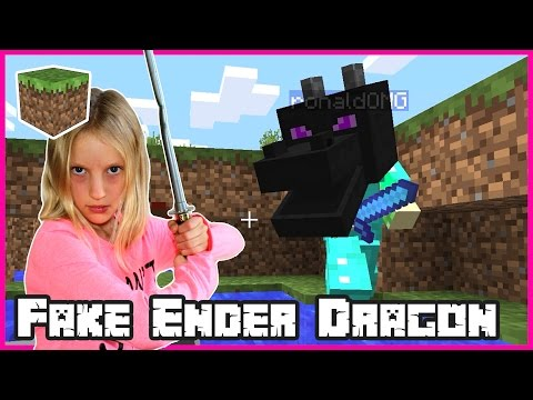 Fighting the Fake Ender Dragon / Minecraft