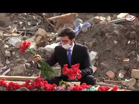 Посол Израиля стал свидетелем тяжелых последствий армянского террора в Гяндже