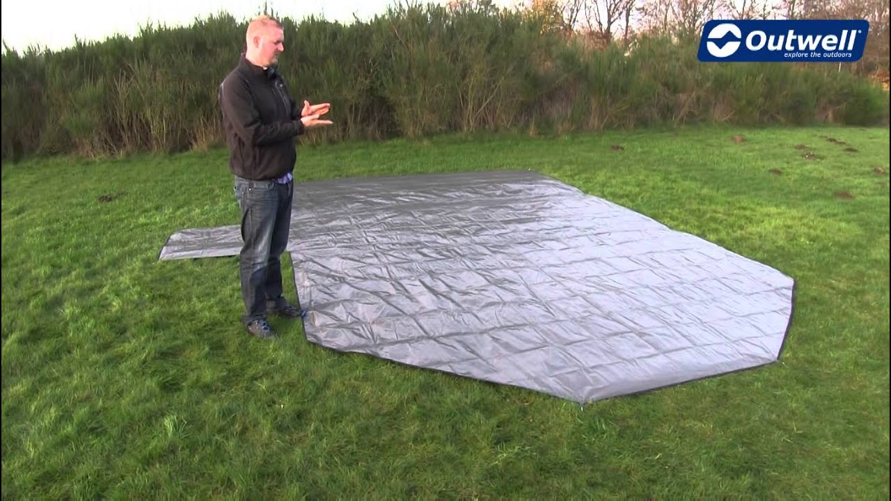 Outwell Tent Footprint | Innovative Family C&ing & Outwell Tent Footprint | Innovative Family Camping - YouTube