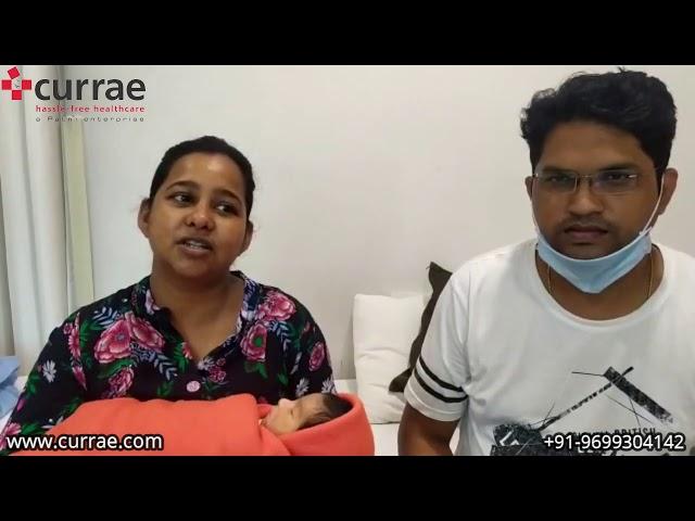 Mrs. Deepika Pratap   Birthing   Dr. Sangeeta Shetty   Currae Hospitals