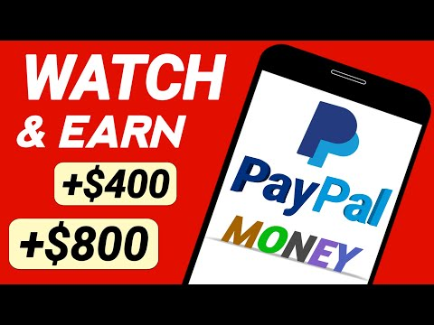 Make $800 Watching YOUTUBE Videos (Earn FREE PayPal Money)