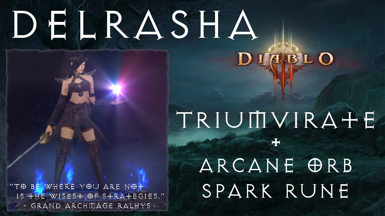Diablo  Arcane Orb Build