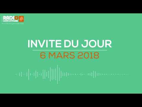 """""""L'invité du jour"""" avec DIBI Faizan (JCI Abidjan Elite) 6 mars 2018 - Radio Côte d'Ivoire"""
