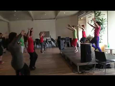 Masala Bhangra Workout, Latin Dance Camp vol. 4, GERMANY  March 2015