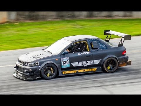 "485 HP ""Slumdog Millionaire"" Time Attack Subaru RS Coupe - (Track) One Take"