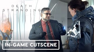 Death Stranding: Bridge Baby & Deadman In-Game Cutscene - Gamescom 2019