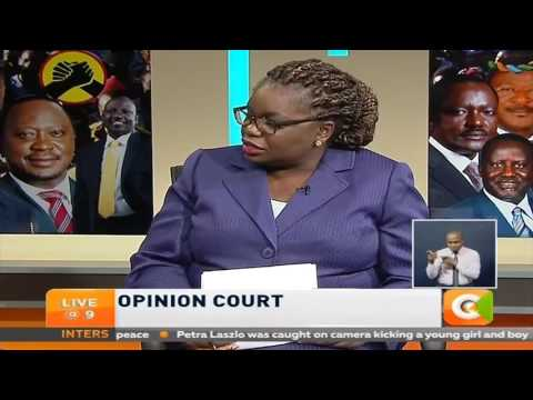 Opinion Court: Political alignment in Kenya.