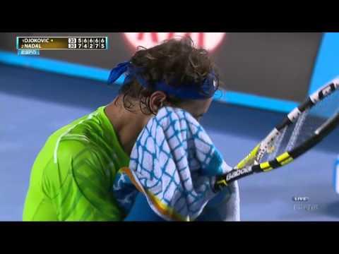 Australian Open 2012: N.Djokovic (SRB) - R.Nadal (ESP) final [last game]