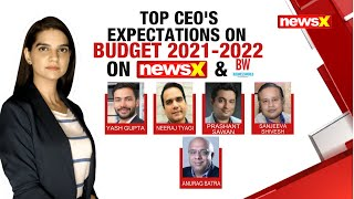 Top CEO's Expectations On Budget 2021-2022   NewsX \u0026 BW Special   NewsX