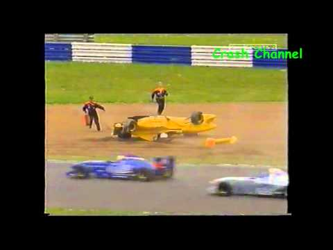 Formula Palmer Audi Adrian Wilmott Crash Silverstone 2002