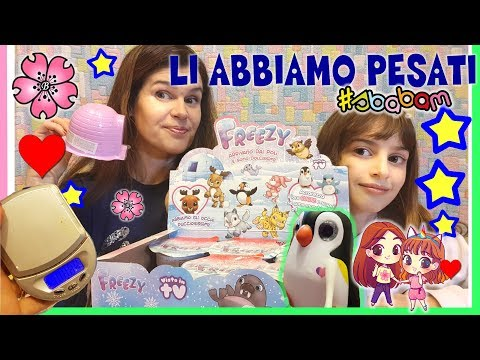 FREEZY! COLLEZIONE COMPLETA e TUTTI I LORO PESI e le loro DATE!! full box unbox by Lara e Babou