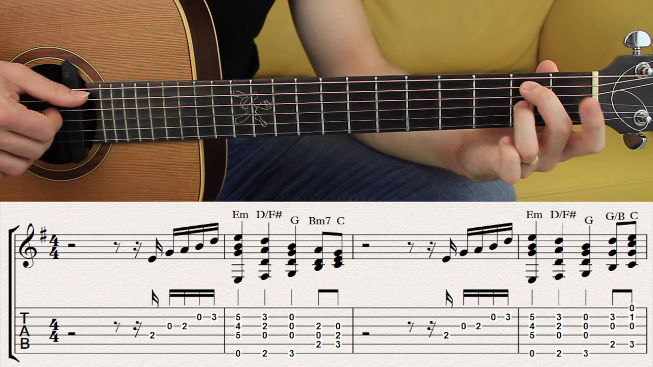 Chords That Sound Like A Melody E Minor Chord Melody In E Minor