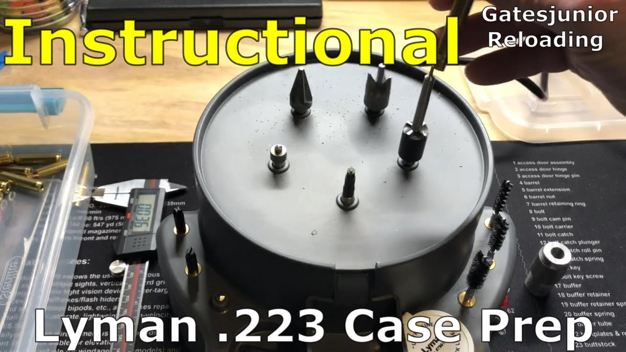 Lyman 223 Case Prep
