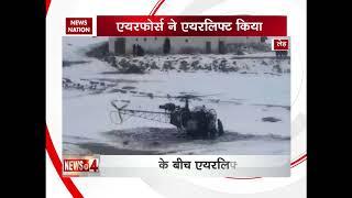 Bravo! Indian Air Force team evacuates pregnant woman in Leh