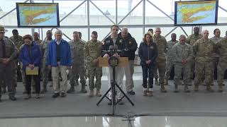 Governor Cuomo Issues Tractor Trailer Ban on Several Roadways - NYC Storm Briefing