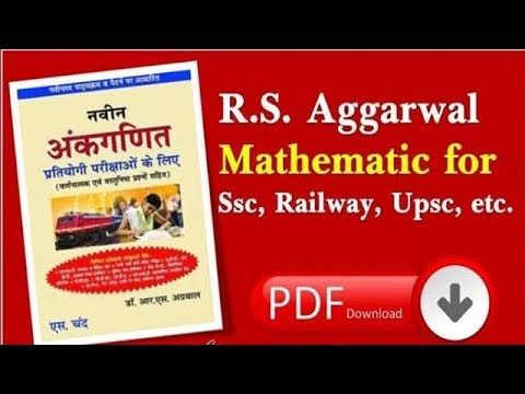 Rs Agarwal Competitive Math Hindi Pdf
