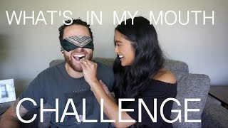 What's In My Mouth Challenge - Us The Duo