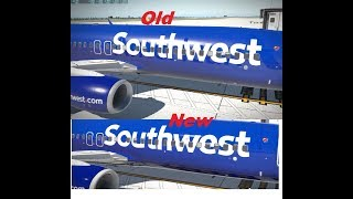 X-Plane 11 | Zibo Mod 737-800X | How to Fix American Logo Coming Through Your Other Liveries