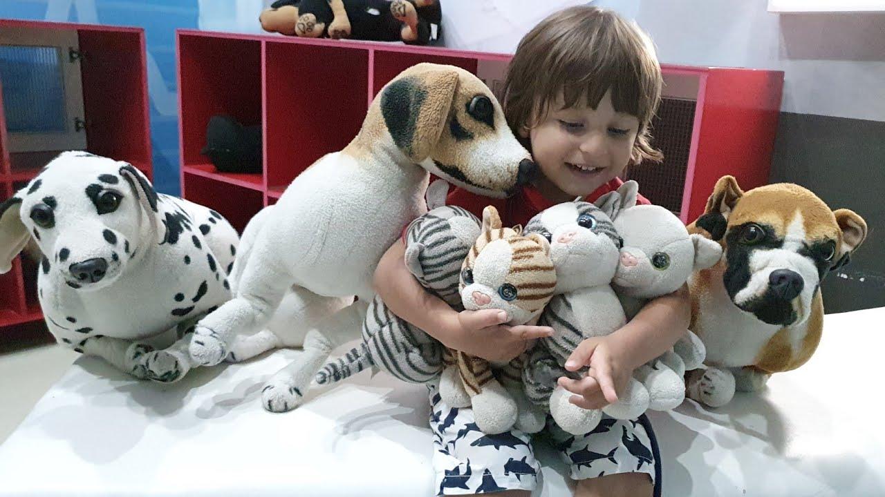 Hayvanlar hasta olmuş tedavi ediyoruz Fatih Selim'le annesi  veteriner oldu
