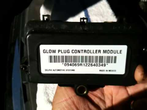 hqdefault 6 6l duramax glow plug controller w calif emissions youtube  at bakdesigns.co