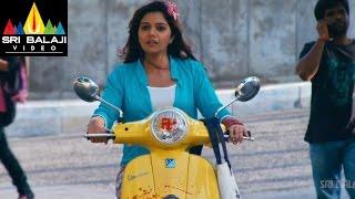 Swamy Ra Ra Movie Nikhil Thefting Swati Reddy's Bike | Nikhil, Swathi | Sri Balaji Video