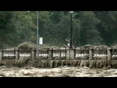 Parma, Italy swamped by flash floods - no comment