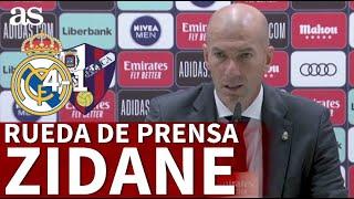 REAL MADRID 4 - SD HUESCA 1 | Rueda de prensa de ZIDANE | Diario AS