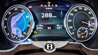 Bentley Bentayga Acceleration 0-283 km/h 6.0 W12 BiTurbo by AutoTopNL
