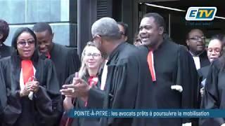 Les avocats de Guadeloupe poursuivent leur mobilisation contre la réforme des retraites
