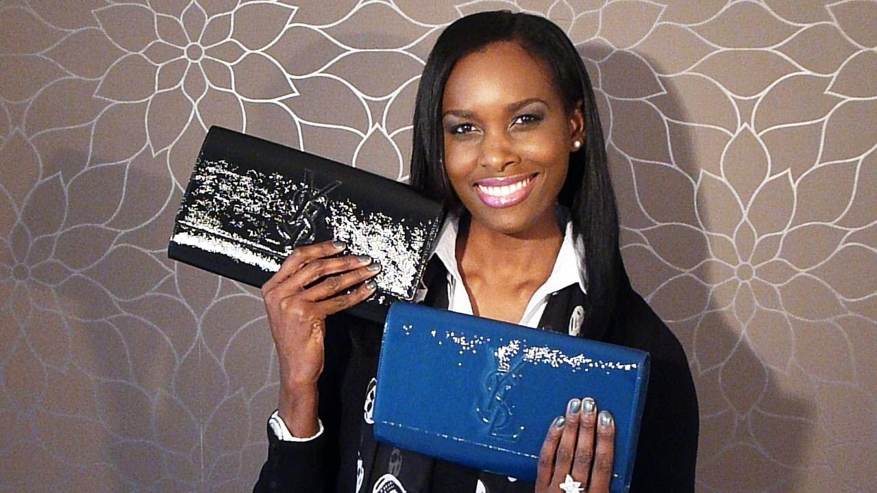 YSL Belle De Jour Clutch Review - YouTube