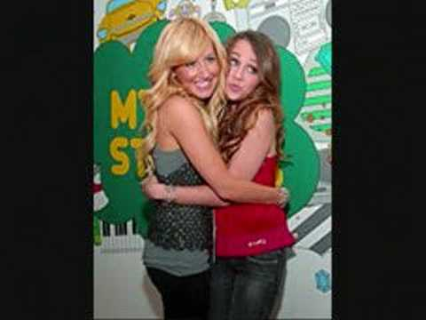 miley cyrus and ashley tisdale freinds forever