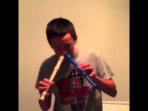 My name is John Cena [ Flute kid ]