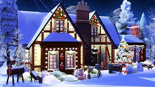 Christmas Family Home 🎄 | The Sims 4 | Speed Build