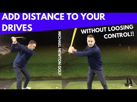 Add More Distance With Your Driver Without Losing Control – Golf Swing Tip