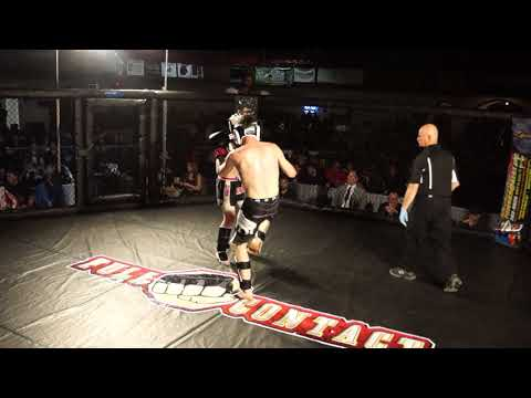 JONATHAN CHAPMAN VS KENNY HALE 160 LB K1 RAGE IN THE CAGE 3