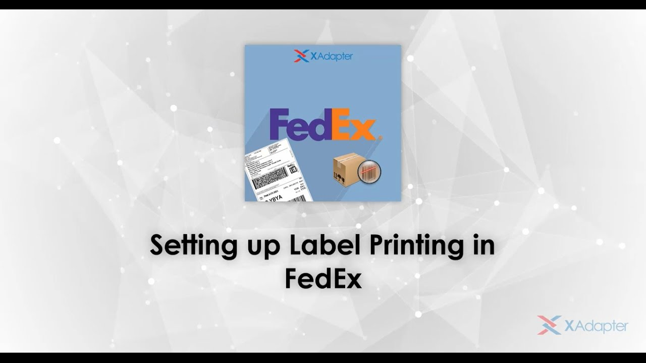 It is an image of Ridiculous Printable Fedex Shipping Labels