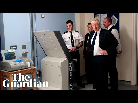 'A Kinder egg?': Boris Johnson shocked to hear prisoners' smuggling techniques