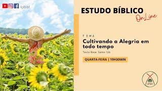 Estudo Bíblico -  IP Bairro de Fátima - 13/05/2020