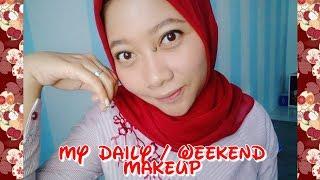 Download lagu Daily Makeup    Weekend Makeup    Natural Pake Bangettt !    No Foundation !    Cyintia Rachmawati