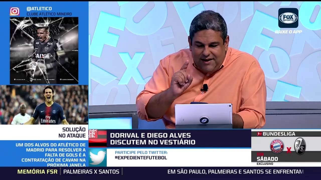 Clima no Flamengo ferve com bate-boca de Diego Alves e Dorival - YouTube fdc3b359f19a6